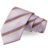 Alluring White Colored Microfiber Necktie for Men | Genuine Branded Product from Peluche.in