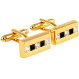 The Bling Bar - Golden Cufflinks