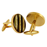 Bigger the Better - Gold Cufflinks
