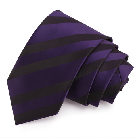 Illusionary Purple Colored Microfiber Necktie for Men | Genuine Branded Product from Peluche.in