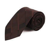 Geometrical Microfiber Necktie for Men