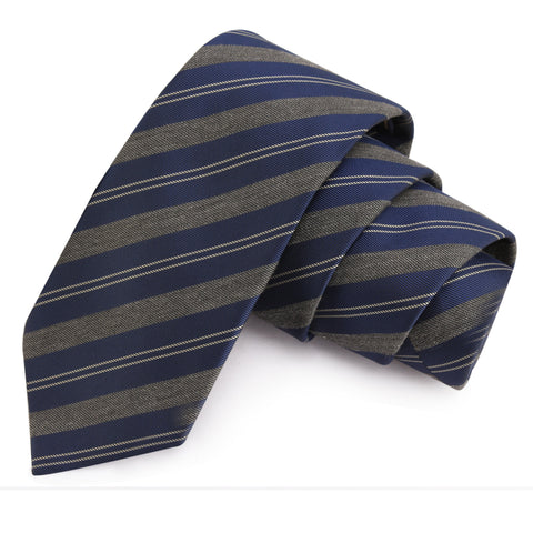Tempting Blue Colored Microfiber Necktie for Men | Genuine Branded Product from Peluche.in