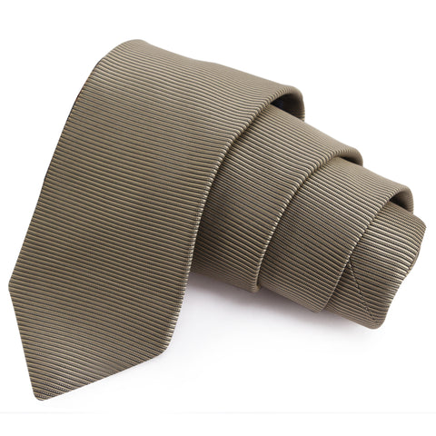 Eye Catching Grey Colored Microfiber Necktie for Men | Genuine Branded Product from Peluche.in