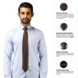 Eye Catching Microfiber Necktie for Men