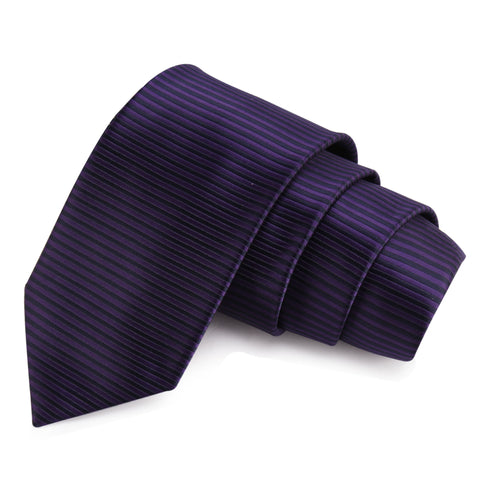 Winning Purple Colored Microfiber Necktie for Men | Genuine Branded Product from Peluche.in