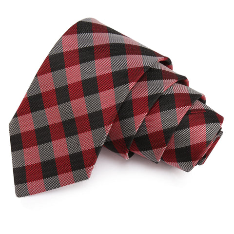 Snazzy Red Colored Microfiber Necktie for Men | Genuine Branded Product from Peluche.in