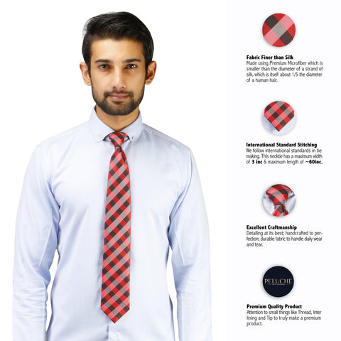 Nifty Microfiber Necktie for Men