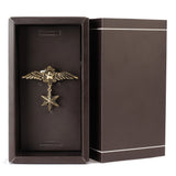 Felpa Winged Stars Golden Colored Lapel Pin for Men