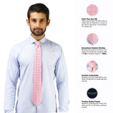 Dual Shade Microfiber Necktie for Men