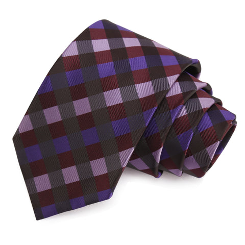 Groovy Multicolor Colored Microfiber Necktie for Men | Genuine Branded Product from Peluche.in