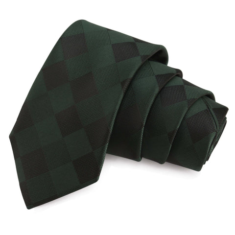 Nobby Green Colored Microfiber Necktie for Men