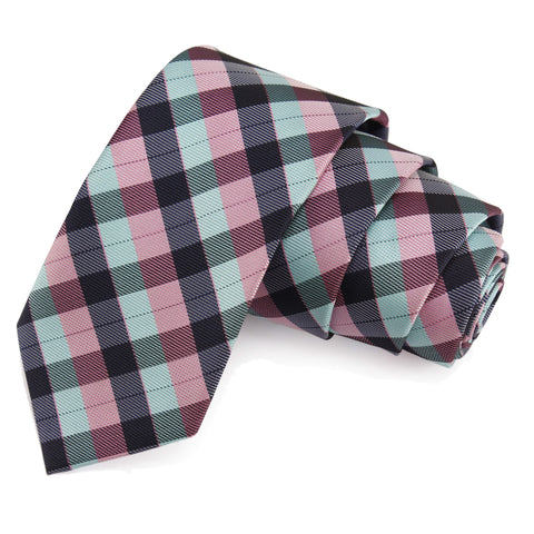 Jazzy Multicolor Colored Microfiber Necktie for Men | Genuine Branded Product from Peluche.in