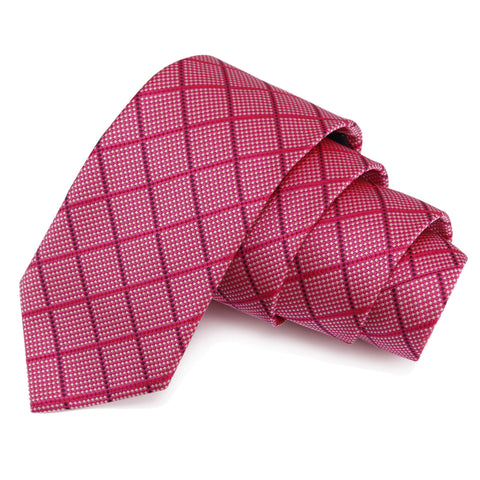 Exceptional Pink Colored Microfiber Necktie for Men | Genuine Branded Product from Peluche.in