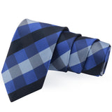 Sleek Blue Colored Microfiber Necktie for Men | Genuine Branded Product from Peluche.in