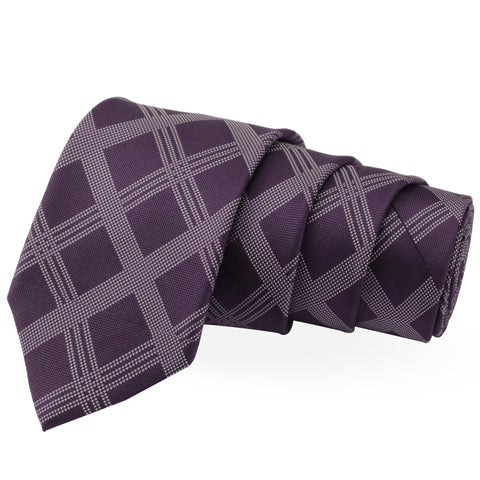 Urbane Purple Colored Microfiber Necktie for Men | Genuine Branded Product from Peluche.in