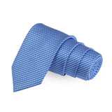 Cult Blue Colored Microfiber Necktie For Men | Genuine Branded Product  from Peluche.in