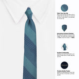 The Classic Medley Microfiber Necktie For Men