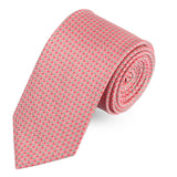 Perky Peach Microfiber Necktie For Men