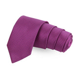 Shady Pink Pink Colored Microfiber Necktie For Men | Genuine Branded Product  from Peluche.in
