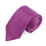 Shady Pink Microfiber Necktie For Men