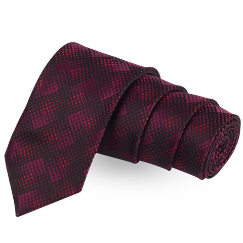 Alluring Abstract Black Colored Microfiber Necktie For Men | Genuine Branded Product  from Peluche.in