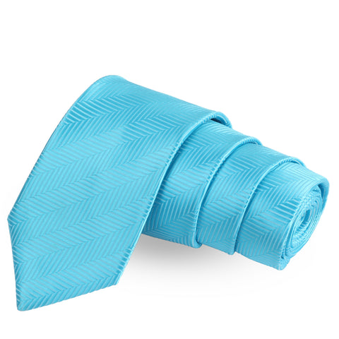 Alluring Stripes Blue Colored Microfiber Necktie For Men | Genuine Branded Product  from Peluche.in