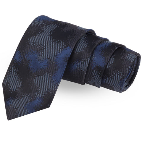Drizzy Black Colored Microfiber Necktie For Men | Genuine Branded Product  from Peluche.in