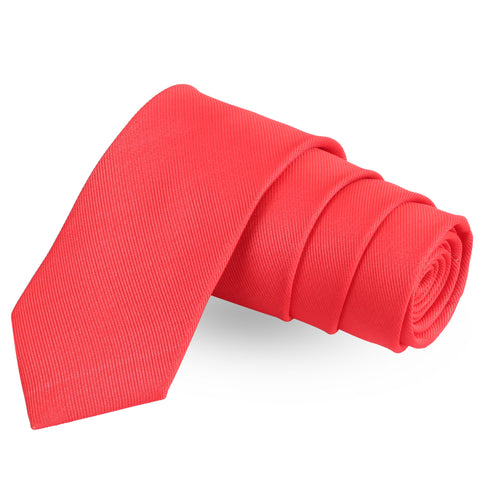 Droplet Pink Colored Microfiber Necktie For Men | Genuine Branded Product  from Peluche.in