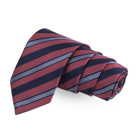 Dazzaling Turn Red Colored Microfiber Necktie For Men | Genuine Branded Product  from Peluche.in