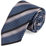 Inverted Blaze  Microfiber Necktie For Men
