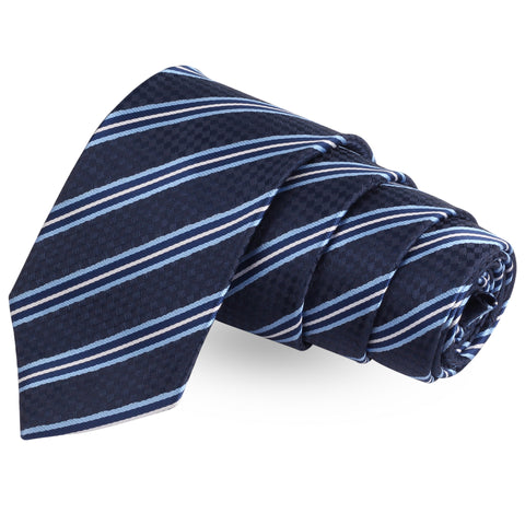 Blue Ombre Blue Colored Microfiber Necktie For Men | Genuine Branded Product  from Peluche.in