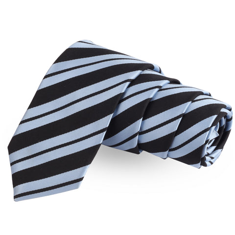 Blue Vault Blue Colored Microfiber Necktie For Men | Genuine Branded Product  from Peluche.in