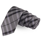 Mix N Match Grey Colored Microfiber Necktie For Men | Genuine Branded Product  from Peluche.in