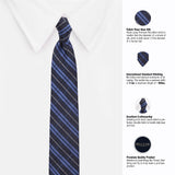 Glazed Microfiber Necktie For Men