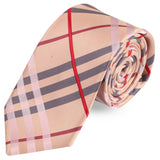 Magnificent Stripes Microfiber Necktie For Men