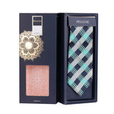 The Clubbed Design Microfiber Necktie For Men