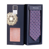 The Floral Embrace Microfiber Necktie For Men