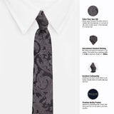 The Weald Feel Microfiber Necktie For Men