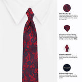 The Covert Slay Microfiber Necktie For Men
