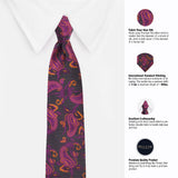 The Blazing Grace Microfiber Necktie For Men
