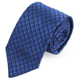 On Point Check Microfiber Necktie For Men