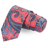 The Pink Assort Pink Colored Microfiber Necktie For Men | Genuine Branded Product  from Peluche.in