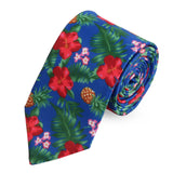 The Floral Ambush Microfiber Necktie For Men