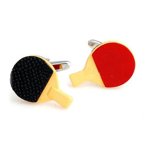 Mini TT - Orange, Black, Red Cufflinks