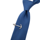 Grey Anchor Tie Pin Tie Pin