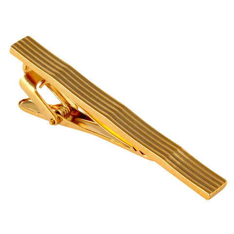 Peluche Curves to Kill - Golden Tie Pin Brass