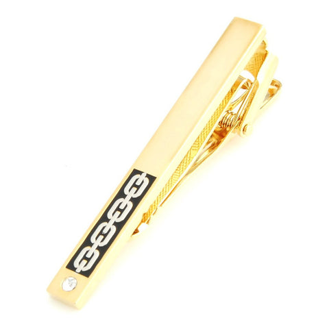 Peluche Egyption King - Golden Tie Pin Brass, Crystal, American Crystal