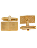 Curves to Kill - Golden Cufflinks and Tie Pin Set