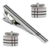 Mr.Dapper - Look Sharp - Cufflinks and Tie Pin Set