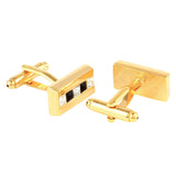 The Bling Bar - Golden Cufflinks and Tie Pin Set